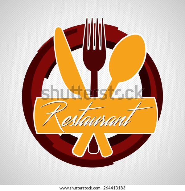 food restaurant logo icon