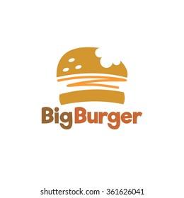 Food service vector logo. Fast food, burger and restaurant logo. design template