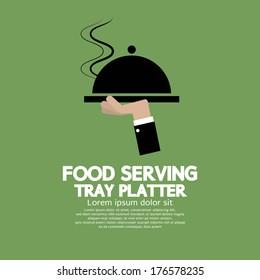 Food Serving Tray Platter