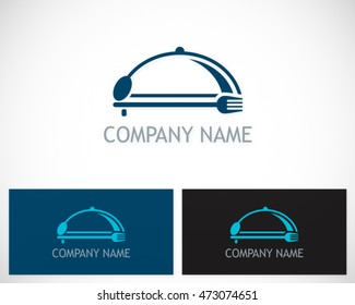 food spoon restaurant logo
