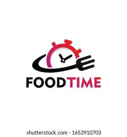Food Time Logo Template Design