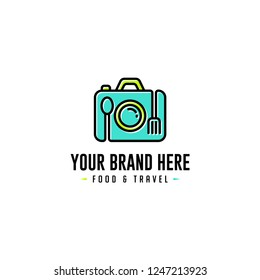 Food and Travel Logo BriefcaseFood and Travel Logo Briefcase