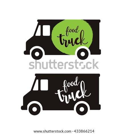 food truck logo template stock vector royalty free 433866214