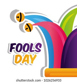 fools day card celebration