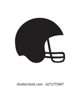 Foot Ball Helmet Icon, Sport Helmet Icon