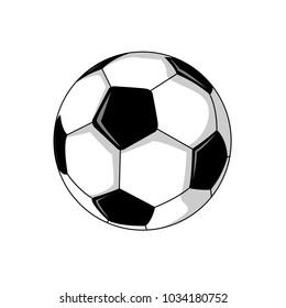 Foot Ball Soccer Illustration Vector Graphic Design
