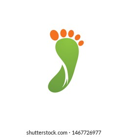 Foot therapist logo vector icons