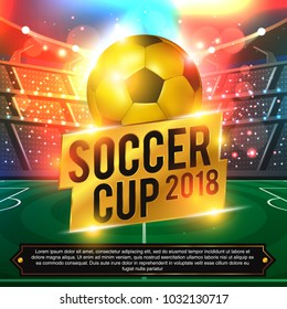 football 2018 world championship cup background soccer