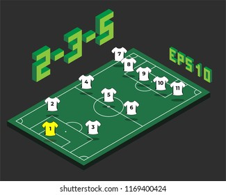 football formation images stock photos vectors shutterstock