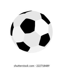 Football ball, football ball isolated