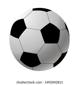 football ball soccer isolated vector illustration eps10