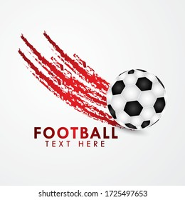 Football Championship Background Vector Design