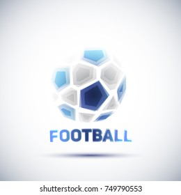 Football Championship Banner. Vector illustration