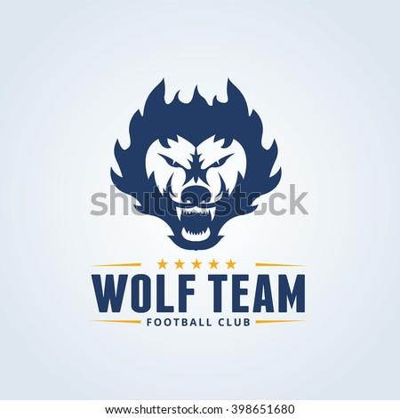 Football Club Logovector Logo Template Stock Vector Royalty Free