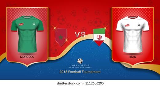 new product 26b5d fbdbc Football Logo Morocco Images, Stock Photos & Vectors ...
