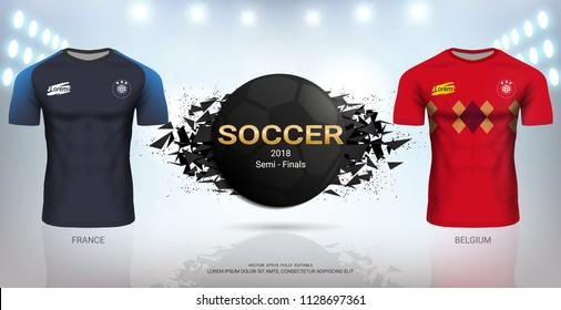save off e046d c8a4d France Football Jersey Images, Stock Photos & Vectors ...