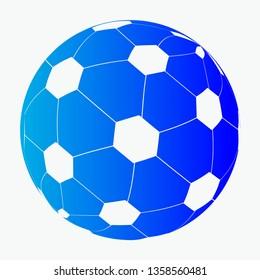Football design for background