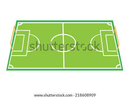 Football Field Game Plan Board Template Stock Vector Royalty Free - Game plan template