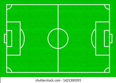 Football field vector background game pattern template