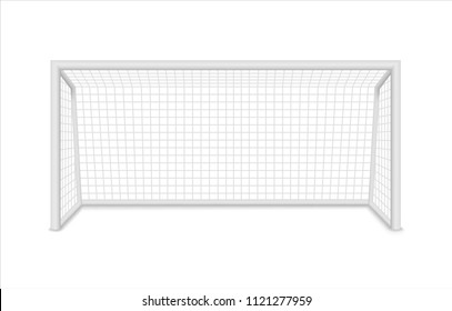 Football goal. Soccer goal. Vector illustration