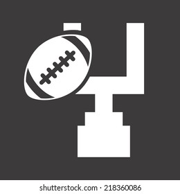 football graphic design , vector illustration