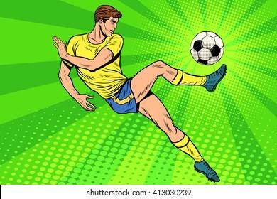 Football has a soccer ball summer sports games