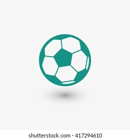 Football icon. One of set web icons