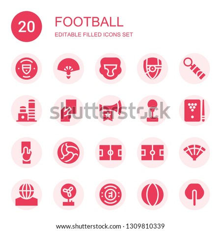 football icon set Collection