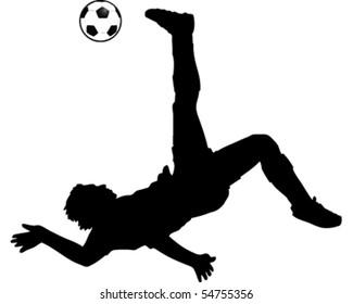 Football Kick Bicycle Kick