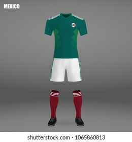 MEXICO World Cup 2018 BABYGROW FOOTBALL New Style Retro