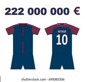 separation shoes 74250 e1cbb Ilustraciones, imágenes y vectores de stock sobre Neymar ...