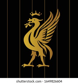Football logos and insignias.Vector illustration in lineart style.