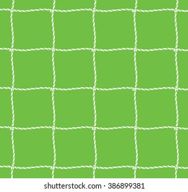 football net (soccer goal)