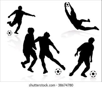 Football Silhouette