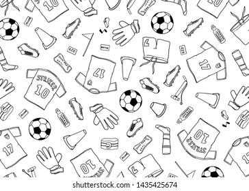 Bilder Stockfotos Und Vektorgrafiken Fussball Gezeichnet