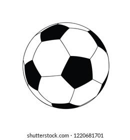 Football Soccer ball icon vector illustrator design