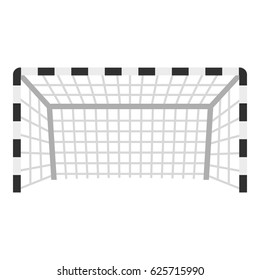 Football or soccer gate icon flat isolated on white background vector illustration