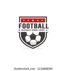 Football, soccer logo
