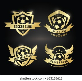 Football  and Soccer Logo Collection.