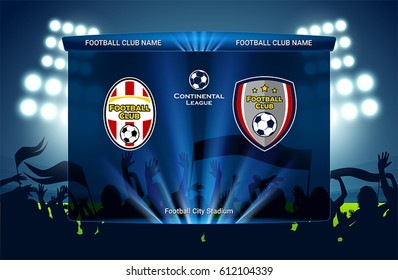 Football / soccer match design