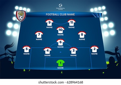 Football / soccer match design