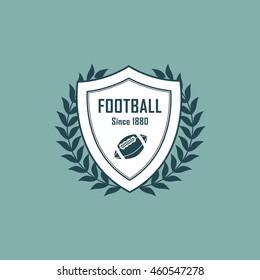 Football And Sport Shield Vector Design