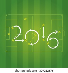Football strategies for goal 2016