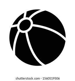 football vector glyph flat icon