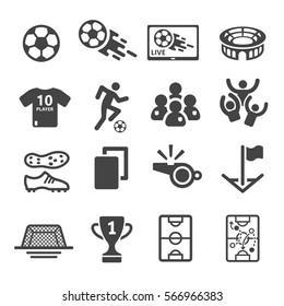 Fussball Symbol Stock Illustrations Images Vectors