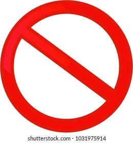 forbidden, sign vector