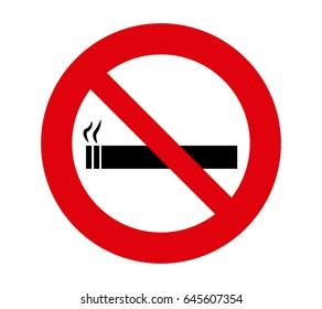 forbidden signal smoke