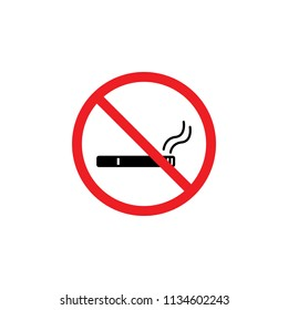 it is forbidden to smoke, it is forbidden to smoke, it is forbidden to smoke indoors , CYMK color , glyph icon ,