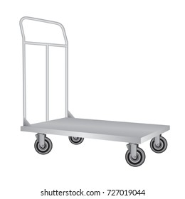 Fordable Platform Hand Truck Trolley Heavy Duty