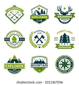 Forest And Adventure Logo Design